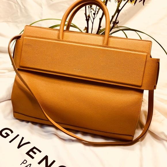 0cdf86440ef3 Givenchy Handbags - Givenchy- Horizon Satchel Leather Medium